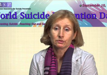 World Suicide Prevention Day Video Message – September 10, 2015