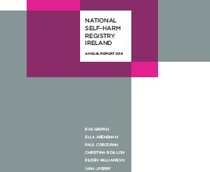 National Self-Harm Registry Ireland                         Annual Report 2014